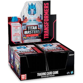 Transformers TCG: Titan Masters Attack Booster Box