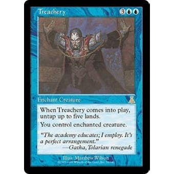 Magic the Gathering Urza's Destiny Single Treachery FOIL - NEAR MINT (NM)