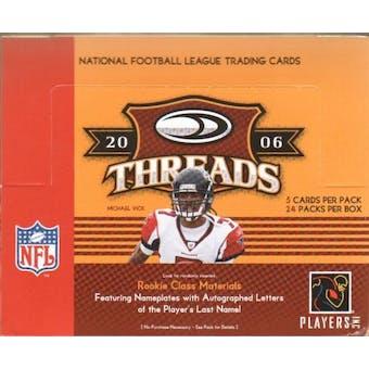 2006 Donruss Threads Football Hobby Box
