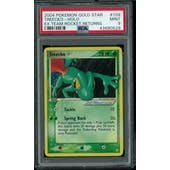 Pokemon EX Team Rocket Returns Treecko Gold Star 109/109 PSA 9