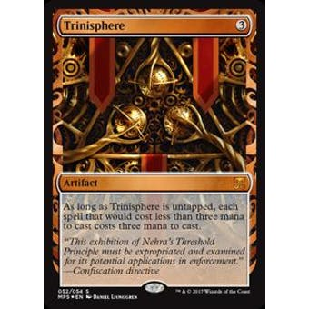 Magic the Gathering Kaladesh Inventions Single Trinisphere FOIL - NEAR MINT (NM)