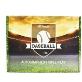 2020 Hit Parade Autographed TRIPLE PLAY Baseball Edition Hobby Box - Series 5 - Trout & Acuna!!
