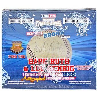 2012 TriStar Bronx Edition Series 6 Baseball Hobby Box