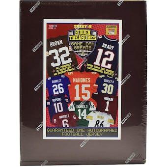 2019 TriStar Hidden Treasures Game Day Greats Football Jersey Hobby Box
