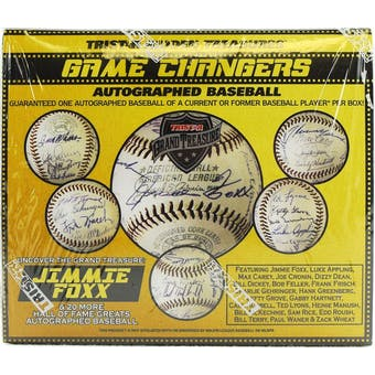 2019 TriStar Game Changers Autographed Baseball Hobby Box