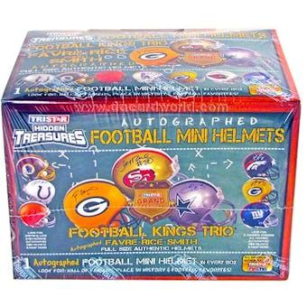 2012 TriStar Hidden Treasures Autographed Mini-Helmet Football Hobby Box