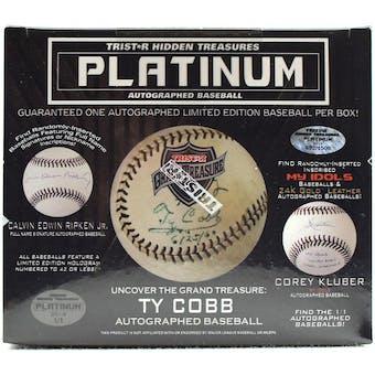 2019 TriStar Platinum Autographed Baseball Hobby Box