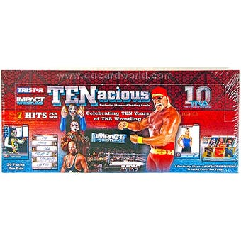 2012 TriStar TNA Impact TENacious Wrestling Hobby Box