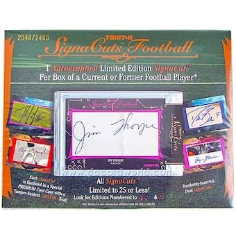 2012 TriStar SignaCuts Football Hobby Box
