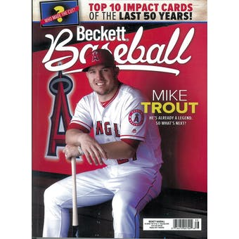 2019 Beckett Baseball Monthly Price Guide (#164 November) (Mike Trout)