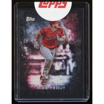 2019 Topps Bunt VIP Party Mike Trout #MT #75/83
