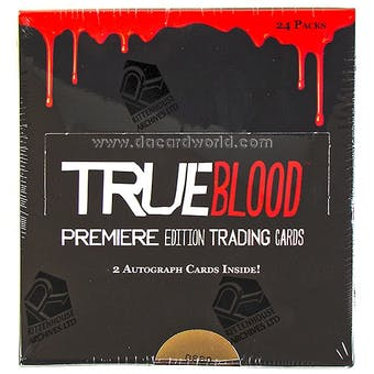 True Blood Premiere Edition Trading Cards Box (Rittenhouse 2012)