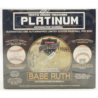 2020 TriStar Platinum Autographed Baseball Hobby Box