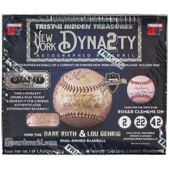 2014 TriStar Hidden Treasures New York Dynasty Baseball Hobby Box