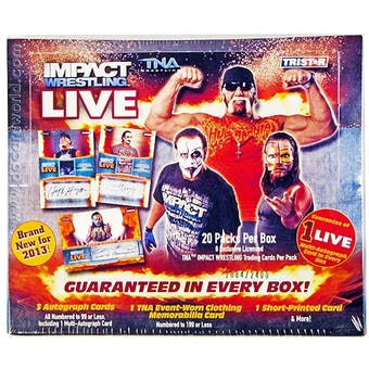 2013 TriStar TNA Impact Live Wrestling Hobby Box