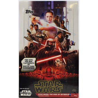 Star Wars The Rise of Skywalker Hobby Box (Topps 2019)