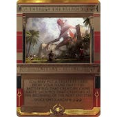 Magic the Gathering Amonkhet Invocation Single Through the Breach FOIL - NEAR MINT (NM)