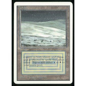 Magic the Gathering Unlimited Single Tundra - MODERATE PLAY (MP)