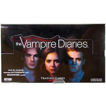 The Vampire Diaries Season 1 Trading Cards Box (Cryptozoic 2012)