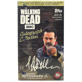 The Walking Dead Autograph Collection Hobby Box (Topps 2018)