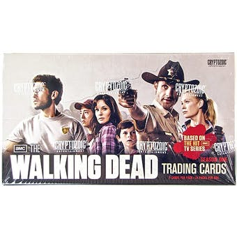 The Walking Dead Season 1 Trading Cards Box (Cryptozoic 2011)