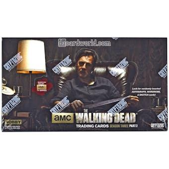 The Walking Dead Season 3 Part 2 Trading Cards Box (Cryptozoic 2014)