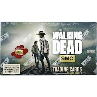 The Walking Dead Season 4 Part 1 Trading Cards Box (Cryptozoic 2016)