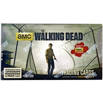 The Walking Dead Season 4 Part 2 Trading Cards Box (Cryptozoic 2016)
