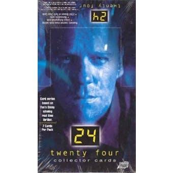 24 Twenty-Four Seasons 1+2 Hobby Box (2003 Comic Images)