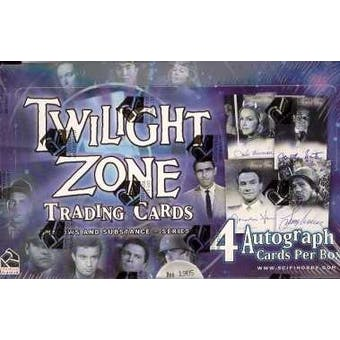 The Twilight Zone Series 3 Shadows & Substances Box (Rittenhouse 2002)