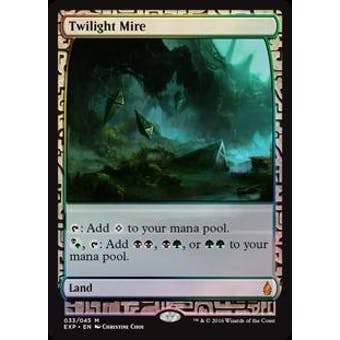 Magic the Gathering Zendikar Expedition Single Twilight Mire FOIL - NEAR MINT (NM)