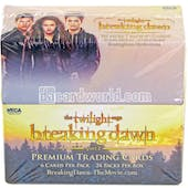 HUGE Twilight Breaking Dawn Part 2 Trading Cards Box Lot - $50,000+ SRP! 1,000+ Boxes!