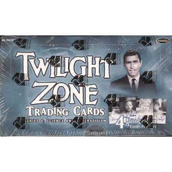 The Twilight Zone Series 4: Science & Superstition Box (Rittenhouse 2005)