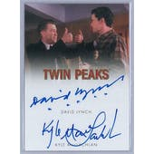 Twin Peaks David Lynch/Kyle MacLachlan Dual Autograph Card (Rittenhouse 2018)