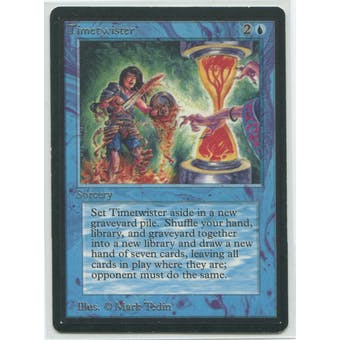 Magic the Gathering Beta Single Timetwister - SLIGHT PLAY (SP+)