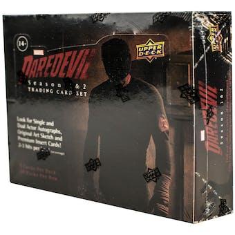 Daredevil Season 1 & 2 Trading Cards Box (Upper Deck 2018)