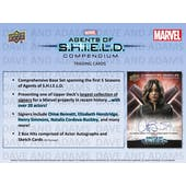 Marvel Agents of S.H.I.E.L.D. Compendium Hobby Box (Upper Deck 2019) (Presell)