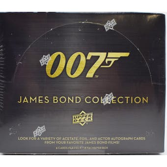 007 James Bond Collection Trading Cards Hobby Box (Upper Deck 2019)