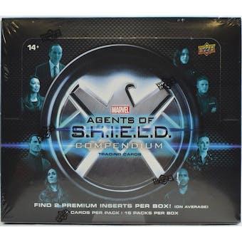 Marvel Agents of S.H.I.E.L.D. Compendium Hobby Box (Upper Deck 2019)