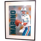 Dan Marino Miami Dolphins Upper Deck 24 x 30 Framed Original Art