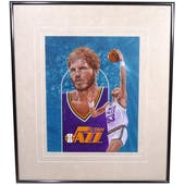 Mark Eaton Utah Jazz Upper Deck 26 x 30 Framed Original Art