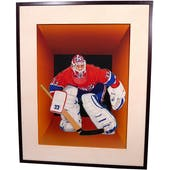Patrick Roy Montreal Canadiens Upper Deck 24 x 30 Framed Original Art
