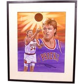 Tom Chambers Phoenix Suns Upper Deck 22 x 26 Framed Original Art
