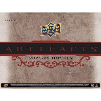 2021/22 Upper Deck Artifacts Hockey 7-Pack Blaster Box (Presell)
