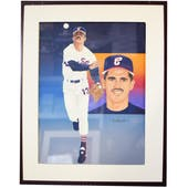 Ozzie Guillen Chicago White Sox Upper Deck 24 x 30 Framed Original Art