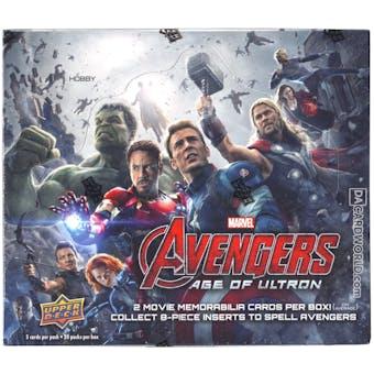 Marvel Avengers: Age of Ultron Trading Cards Hobby Box (Upper Deck 2015)