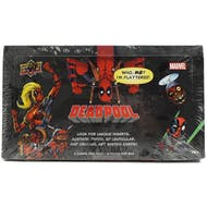 Marvel Deadpool Trading Cards Hobby Box (Upper Deck 2018)