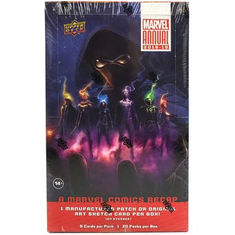 Marvel Annual Trading Cards Box (Upper Deck 2018/19)