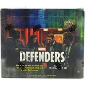 Marvel The Defenders Trading Cards Hobby Box (Upper Deck 2018)