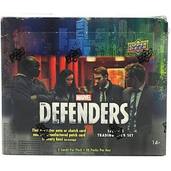 Marvel The Defenders Trading Cards Hobby Box (Upper Deck 2018)